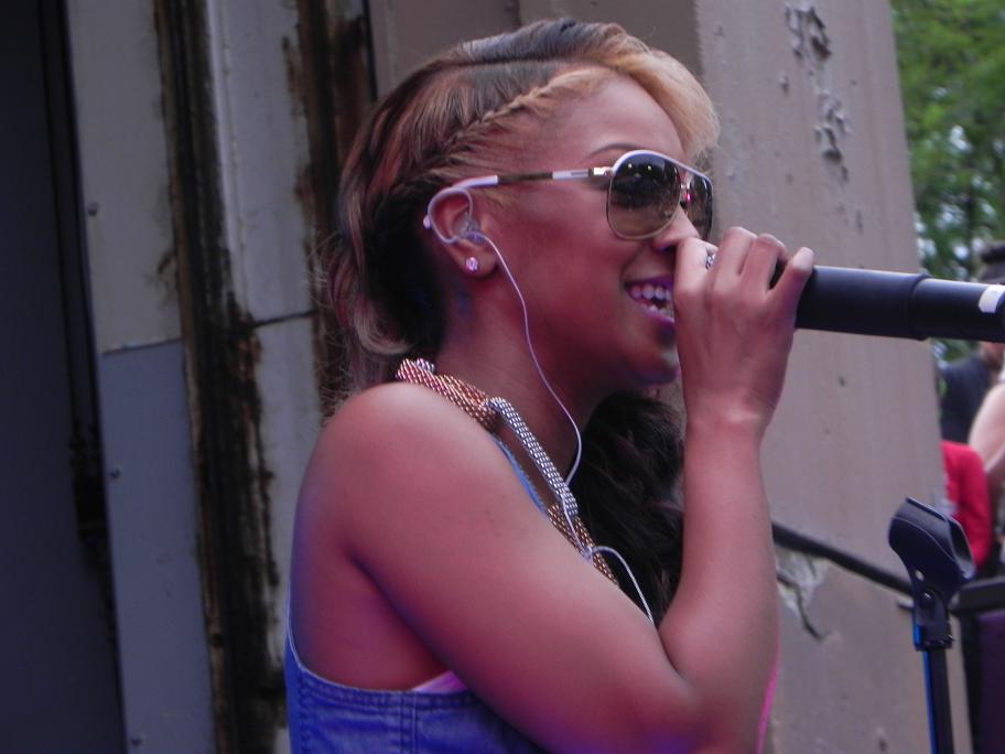 Olivia Live Central Park Summerstage June 2011
