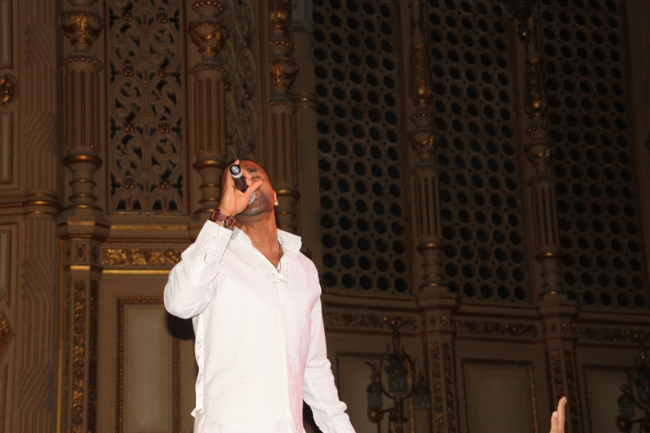 Ginuwine Live Orpheum Vancouver July 2011