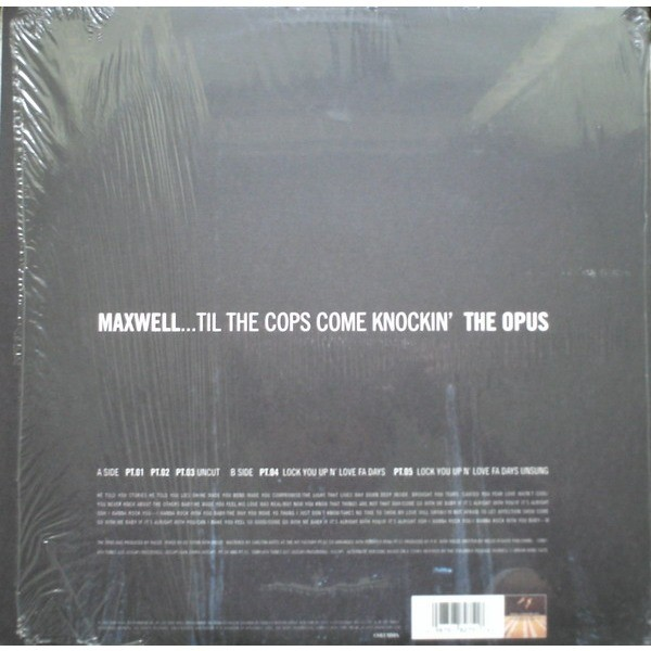 Maxwell Till the Cops Come Knockin