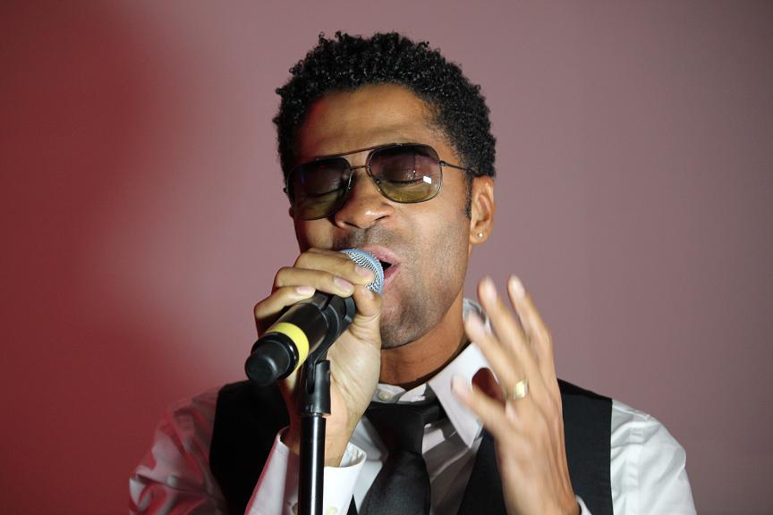 Eric Benet Live Real Love Listening Event NYC Nov 2011