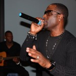 Event Recap & Photos: Q. Parker of 112 Performs at Michael Anthony's in Jersey City for Singersroom Acoustic Conversation 3/24/12