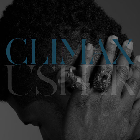 Usher Climax Single Cover