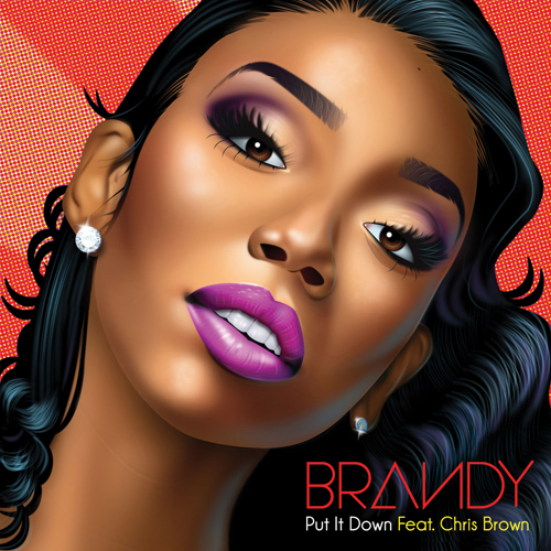 Brandy Put it Down Chris Brown