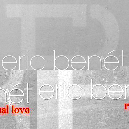 Eric Benet Real Love Single Cover