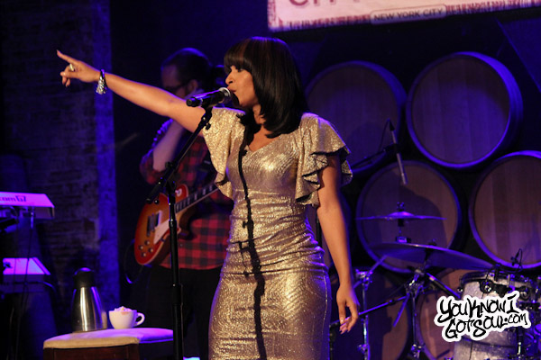 Teedra Moses Live City Winery May 2012