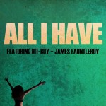 """India Shawn """"All I Have"""" featuring Hit-Boy & James Fauntleroy"""