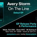 """Avery Storm Announces Upcoming Debut EP """"On the Line"""""""