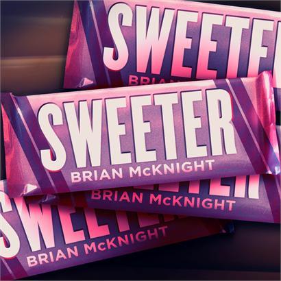 Brian McKnight Sweeter Single Cover
