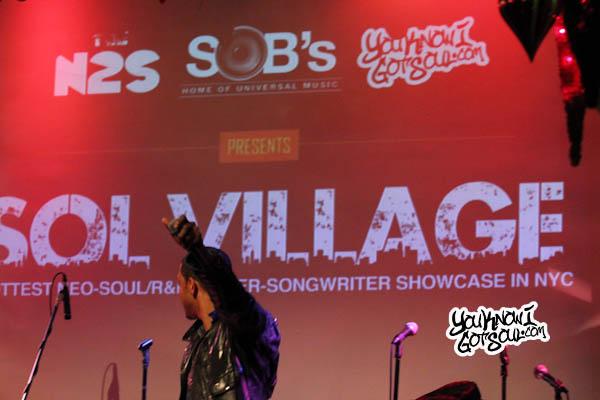 Mateo SOBs Sol Village Dec 2012