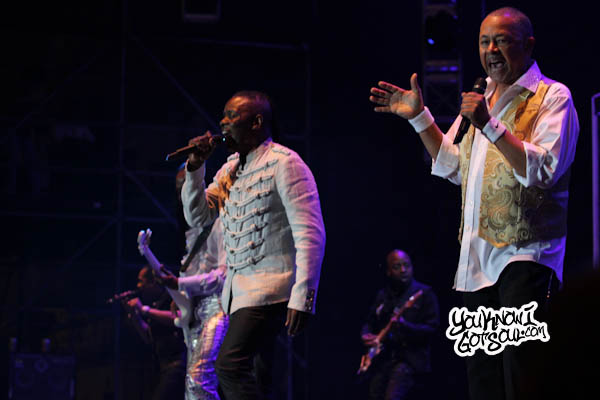 Earth Wind and Fire Jazz in the Gardens 2013-2