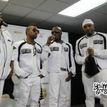 """Blackstreet Performing """"No Diggity"""" Live in the 2013 Essence Music Festival Press Room"""