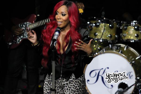 K. Michelle Spotlight Live 2013