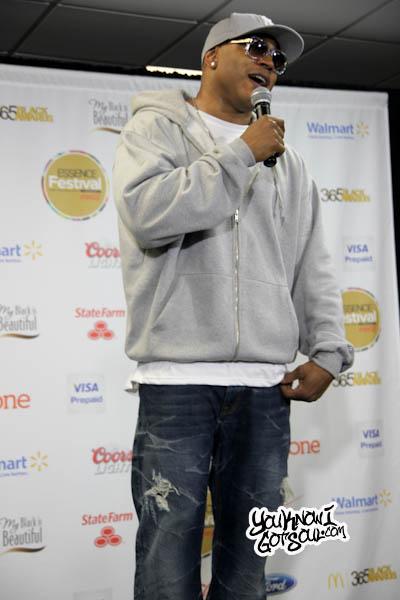 LL Cool J Essence Music Festival 2013-2