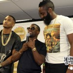 Trey Songz Essence Festival Press Conference - YouKnowIGotSoul Question Answered by Kevin Hart (With James Harden)