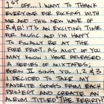 Eric Bellinger Releases Hand Written Letters to Update Fans on New Music