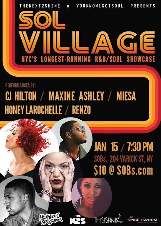 Sol Village January 2014 Flyer