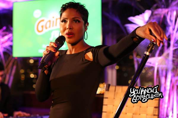 Toni Braxton Gain Event Empire Hotel 2014-