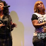 """Erica Campbell of Mary Mary Performing """"Help"""" Live at Season 3 Reality Show Screening 2/25/14"""