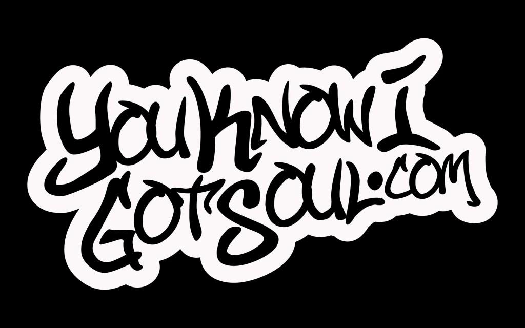 YouKnowIGotSoul Logo Black
