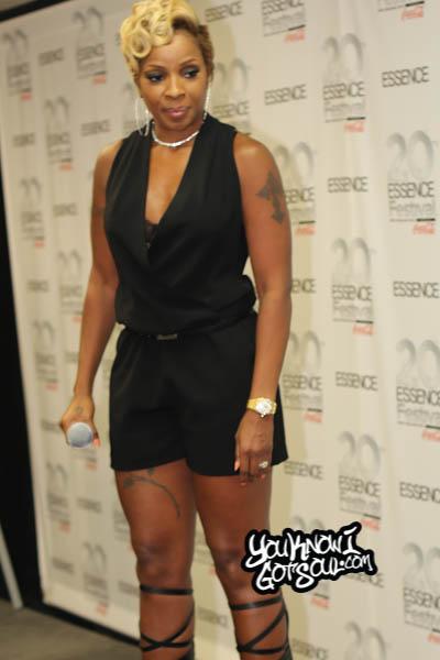Mary J. Blige Essence Festival Press Room 2014 Day 3-1