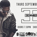 Giveaway: Win Tickets to See Eric Bellinger Perform at SOB's on 9/11 in NYC