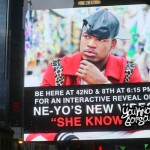 """Recap & Photos: Ne-Yo """"She Knows"""" Interactive Video Unveiling in Times Square 10/1/14"""
