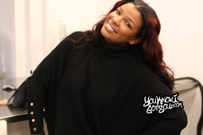 Syleena Johnson YouKnowIGotSoul October 2014