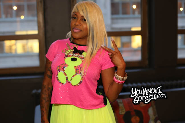 Lil Mo YouKnowIGotSoul October 2014