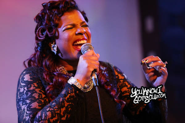 Syleena Johnson SOBs Chapter 6 Album Release
