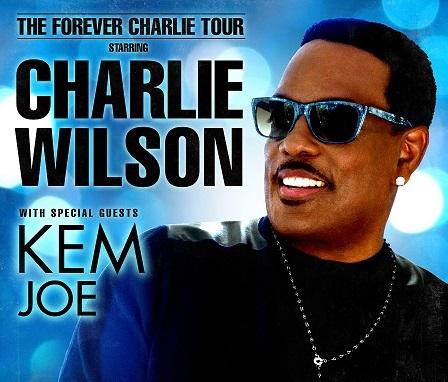 Charlie Wilson Joe Kem Forever Charlie Tour - edit