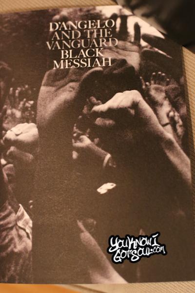DAngelo Black Messiah Listening Event December 2014-2