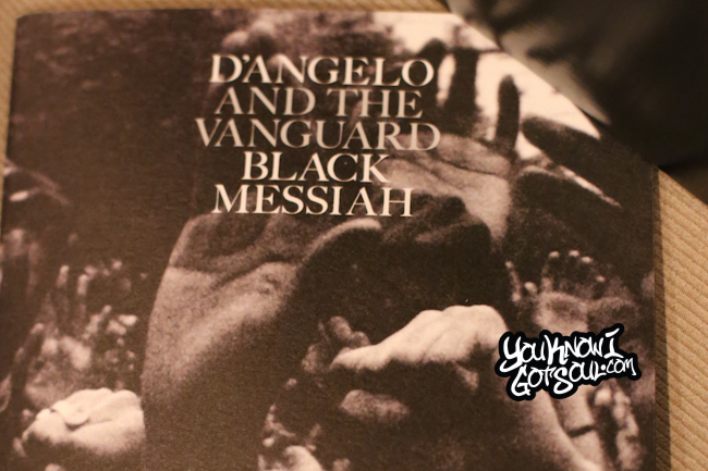 D'Angelo Black Messiah Listening Event 2014