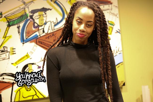 Rochelle Jordan YouKnowIGotSoul 2015