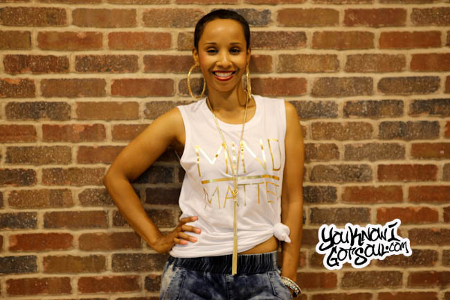 Vivian Green YouKnowIGotSoul May 2015