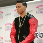"Adrian Marcel Performing ""My Life"" Acapella in the 2015 Essence Festival Press Room"
