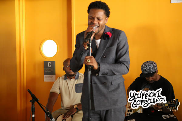 BJ the Chicago Kid In My Mind Album Listening NYC 2015