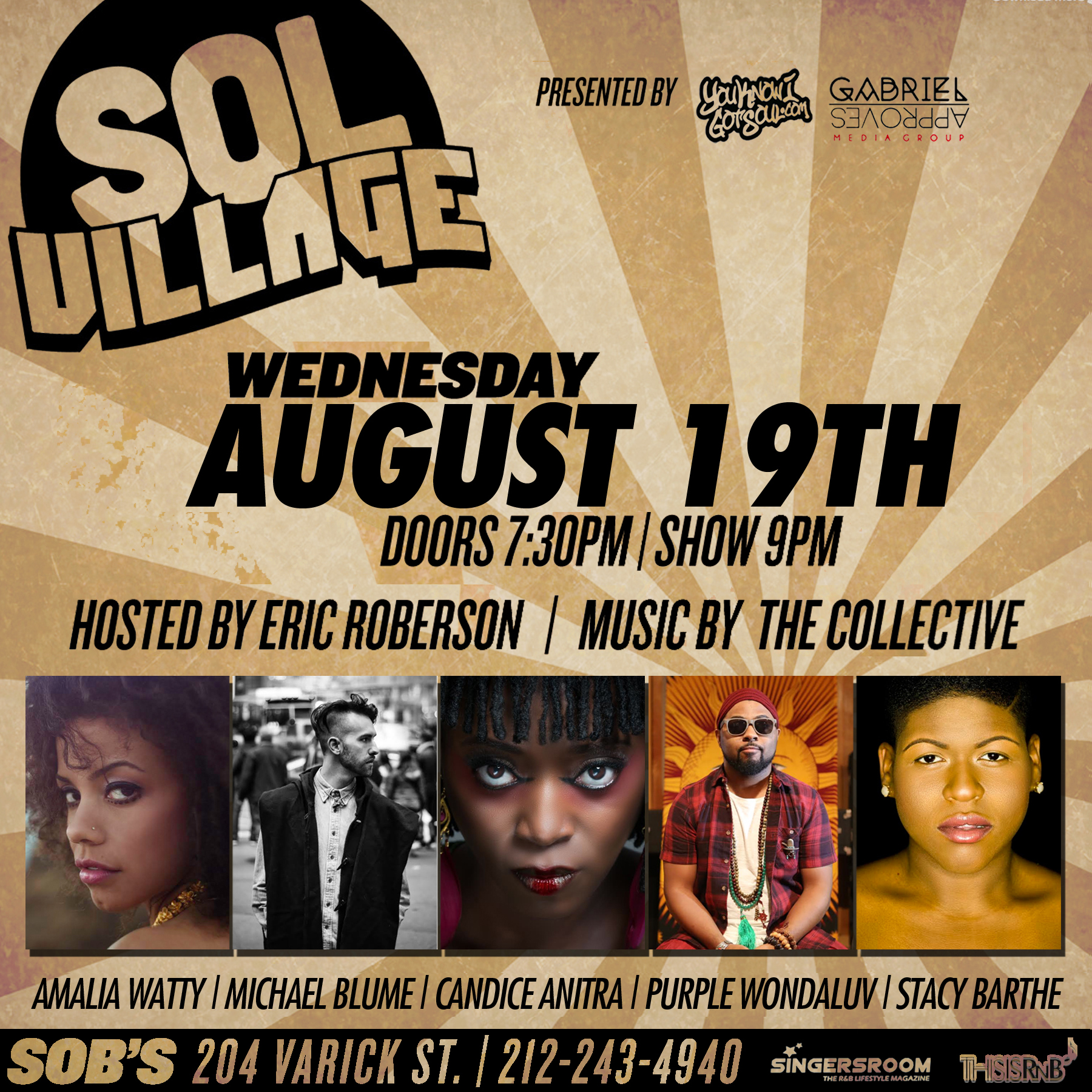 Musiq Soulchild's Persona Purple WondaLuv to Perform at August Edition of Sol Village