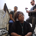 """Exclusive: Stacy Barthe Performs an Acoustic Version of """"Here I Am"""" in a Staircase for YouKnowIGotSoul"""