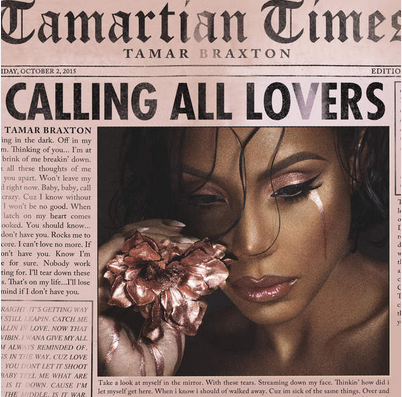 Tamar Braxton Calling All Lovers Album Cover