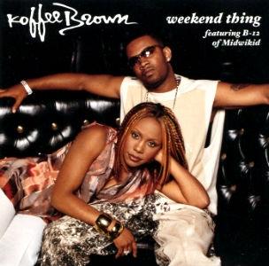 Koffee Brown Weekend Thing Single Cover