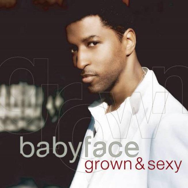Babyface Grown and Sexy Album Cover