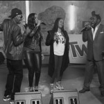 "Erykah Badu Leads ""Soul Cypher"" With Christte Michele, K-Ci, Lalah Hatahway & Eddie Levert at Soul Train Awards"