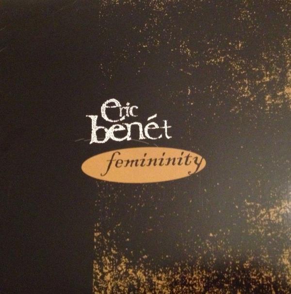 Eric Benet Femininity Single Cover