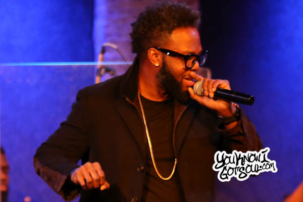 Dwele Performing Live at the City Winery in NYC Jan 2016