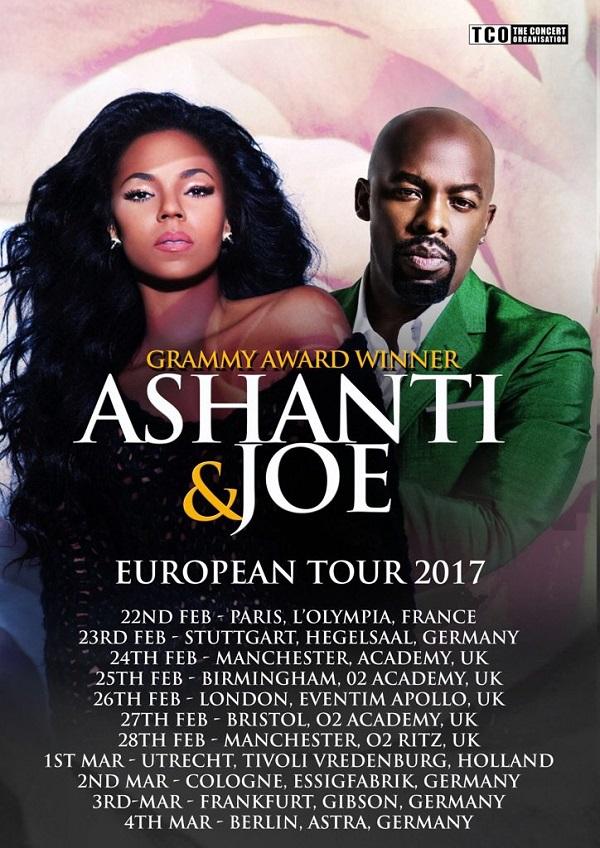 Ashanti Joe European Tour 2017