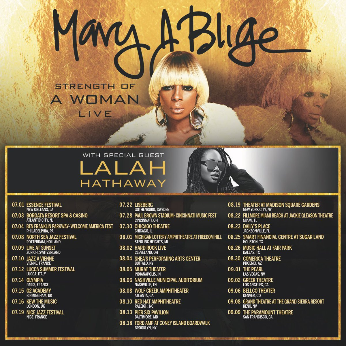Mary J Blige Strength of a Woman Live