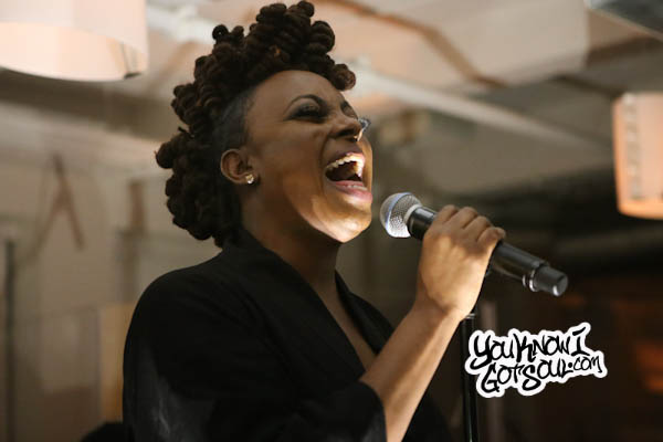 "Ledisi Performing Her New Single ""High"" Live at NYC Press Event (Video)"