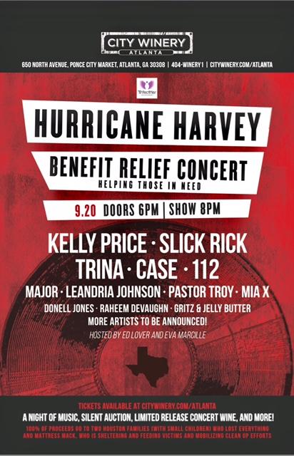 Kelly Price Hurricane Harvey Benefit