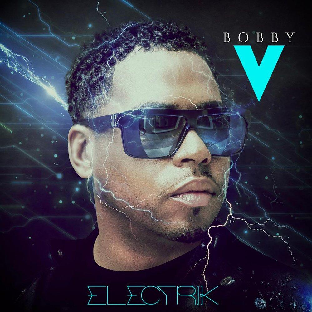 Bobby V Electrik Album Cover