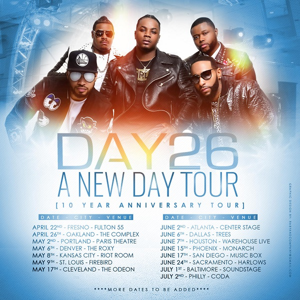 Day26 A New Day Tour